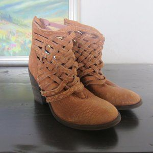Free People Carrera Ankle Boots size 38/8